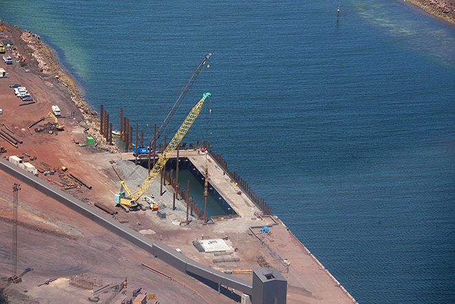 Whyalla port expansion brady marine and civil for Porte 7th sea
